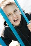 Adolescente de la cala Foto de archivo