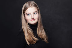 Adolescente de la chica joven Fotos de archivo libres de regalías