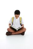 Adolescente de la lectura Fotografía de archivo