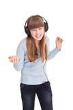 Adolescente de la música Imagenes de archivo