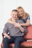 Adolescente de la madre y del hijo Fotografía de archivo