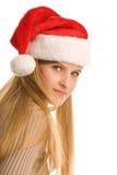 Adolescente de la Navidad Imagen de archivo