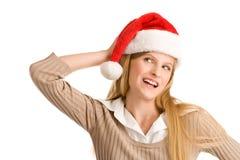 Adolescente de la Navidad Imagenes de archivo