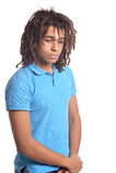 Adolescente de la raza mixta Foto de archivo