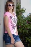Adolescente de la superestrella Imagen de archivo libre de regalías