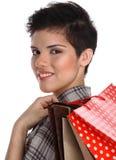 Adolescente de las compras Fotografía de archivo