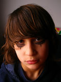 Adolescente de mirada triste Foto de archivo libre de regalías