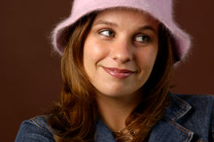 Adolescente de moda Foto de archivo