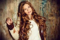 Adolescente de moda Fotografía de archivo