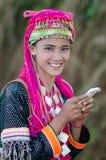 Adolescente de Palaung Foto de archivo