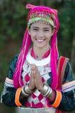 Adolescente de Palaung Foto de archivo libre de regalías