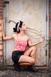Adolescente de Rebelious Fotografía de archivo libre de regalías