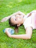 Adolescente de relajación Fotografía de archivo libre de regalías