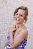 Adolescente de risa Fotos de archivo libres de regalías