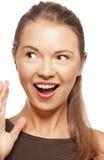 Adolescente de risa Foto de archivo libre de regalías
