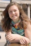 Adolescente de risa feliz Imágenes de archivo libres de regalías