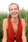 Adolescente de Smilng Imagenes de archivo