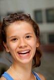 Adolescente de sorriso Imagem de Stock