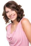 Adolescente de sorriso Fotografia de Stock