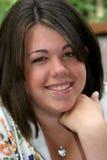 Adolescente de sorriso foto de stock