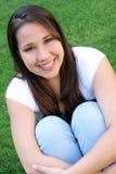 Adolescente de sorriso fotografia de stock royalty free