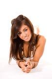 Adolescente de sorriso bonito fotos de stock royalty free
