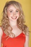 Adolescente de sourire Photos libres de droits
