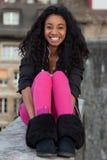 Adolescente del afroamericano Foto de archivo