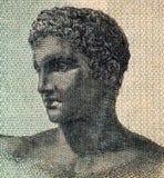 Adolescente del griego clásico Fotografía de archivo