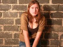 Adolescente del Grunge. Imagen de archivo libre de regalías