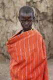 Adolescente del Masai Fotos de archivo libres de regalías