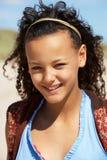 Adolescente del retrato al aire libre Foto de archivo libre de regalías