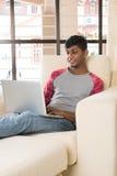 Adolescente del varón de la India Foto de archivo libre de regalías