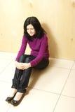 Adolescente depresso Fotografia Stock Libera da Diritti