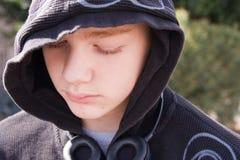 Adolescente deprimido Fotos de Stock Royalty Free