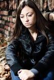 Adolescente deprimido Imagen de archivo