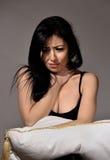 Adolescente deprimido Fotografía de archivo libre de regalías