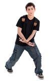 Adolescente di Dancing Fotografia Stock
