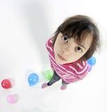Adolescente di Fisheye Fotografia Stock Libera da Diritti
