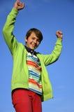 Adolescente di sorriso Fotografie Stock