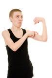 Adolescente divertente Fotografie Stock Libere da Diritti