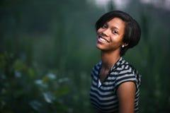 Adolescente do americano africano fotografia de stock royalty free