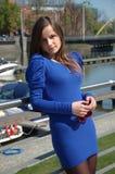 Adolescente dulce en Polonia Fotos de archivo