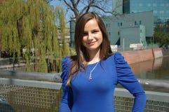 Adolescente dulce en Polonia Fotografía de archivo