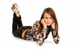 Adolescente elegante Imagem de Stock