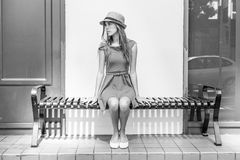 Adolescente elegante Fotos de archivo libres de regalías
