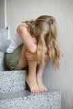 Adolescente emocional Imagen de archivo libre de regalías