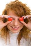 Adolescente en amor Foto de archivo libre de regalías