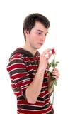 Adolescente en amor Imagen de archivo