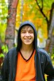 Adolescente en el parque Fotografía de archivo libre de regalías